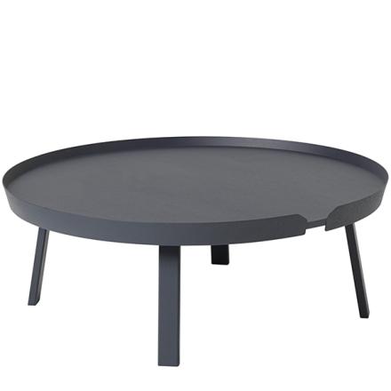 Muuto Around pöytä XL, antrasiitti