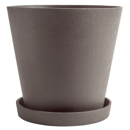 Hay Flowerpot ruukku ja lautanen, XXXL, luumu