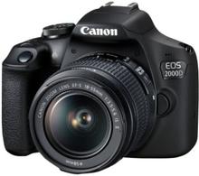Canon Eos 2000D + 18-55/3,5-5,6 is Ii