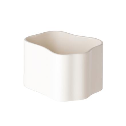 Artek Riihitie ruukku B, pieni, kiiltävä valkoinen