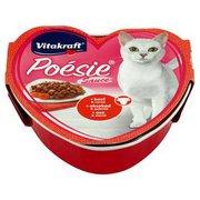 Vitakraft - Poesie kompletna karma dla dorosłych kotów wołowin...
