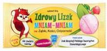Zdrowy lizak - Mniam-Mniam truskawkowy