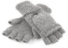 Fliptop Gloves Heather Grey