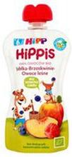 HiPP - Mus owocowy,100% owoców jabłko-brzoskwinia-owoce l...