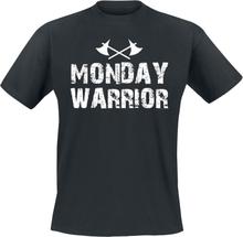 Monday Warrior - -T-skjorte - svart