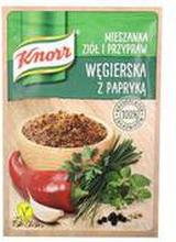 Knorr - Mieszanka ziół i przypraw Węgierska z papryką