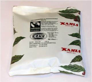 Fairtrade & KRAV godkänt Kaffe (Mellanmörk)