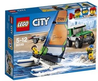 LEGO City Firhjulstrækker med katamaran 60149