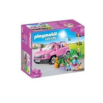 Playmobil 9404 Familiebil med parkeringsplads - playmobilbutikken