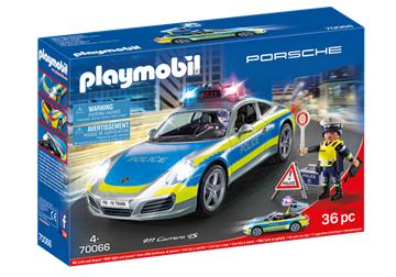 Playmobil 70066 Porsche 911 Carrera 4S Politibil - playmobilbutikken