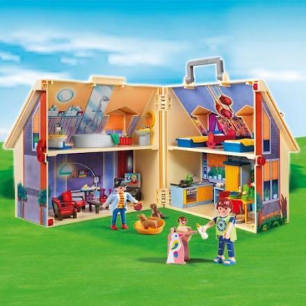 Playmobil 5167 - Bærbart Dukkehus - playmobilbutikken