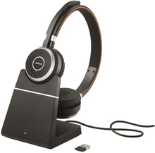 Jabra Evolve 65 With Chargingstand And Link 360 Mono UC