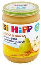 HiPP - Deser gruszki i jabłka z kleikiem orkiszowym