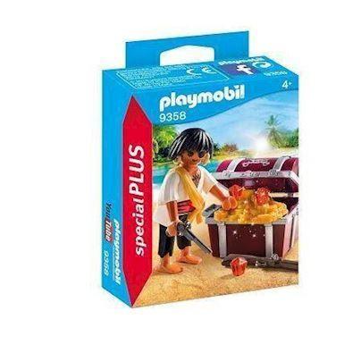 Playmobil 9358 Pirat med skattekiste - playmobilbutikken