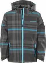 Kilmanock grijs / blauwe geruite softshell jas (zomer) Torin 5.000 waterkolom