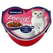 Vitakraft - Poesie kompletna karma dla dorosłych kotów łosoś,m...