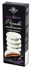 Kopernik - Pierniki w białej czekoladzie nadziewane czarną po...