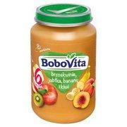 Bobovita - Deser brzoskwinie jabłka i kiwi po 6 miesiącu