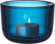 Iittala Valkea kynttilälyhty, turkoosi