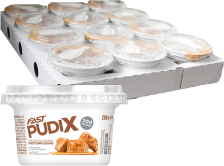 Hel Låda Proteinpudding Toffee 12 x 200g - 71% rabatt