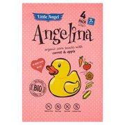 Little Angel - Angelina chrupki kukurydziane z marchewką i jabłki...