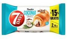 7 Days - Max Croisstant z nadzieniem o smaku kakaowym i kok...