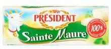 President - Ser Chevre Sainte Maure z Koziego Mleka
