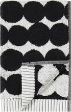Marimekko Räsymatto vieraspyyhe, musta-valkoinen