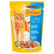 Friskies - Karma dla kota w sosie z łososiem, tuńczykiem i ma...