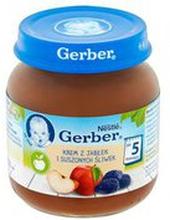 Gerber - Deser jabłka i suszone śliwki