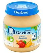 Gerber - Deser rumiane jablko z bananem