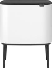 Brabantia Bo Touch roska-astia 11 + 23 L, valkoinen
