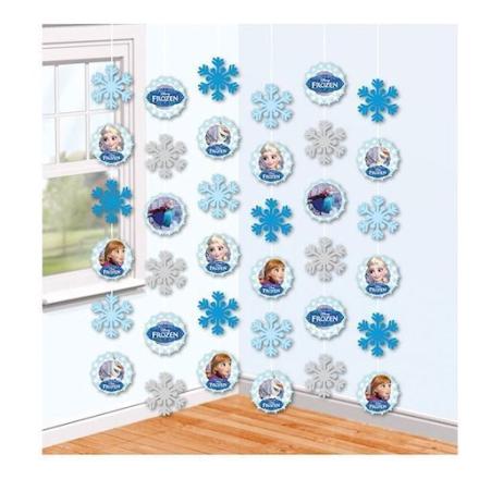 Disney Frozen dekoration
