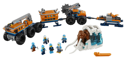 Mobil polär forskningsbas - LEGO City Arctic Expedition 60
