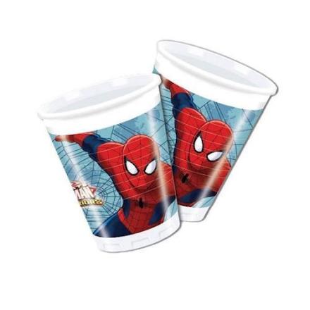 Spiderman krus 8 stk