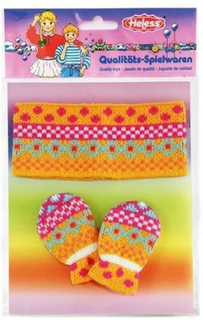 Dukketøj, pandebånd og vanter til dukker på 28-35 cm