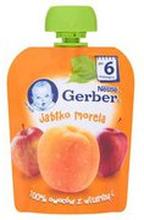 Gerber - Deserek jabłko, morela po 6 miesiącu