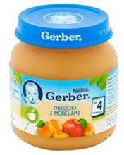 Gerber - Deser jabłka i morele