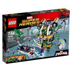 LEGO Super Heroes Spider-Man: Doc Ocks tentakelfælde 76059 - wupti.com