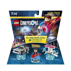 LEGO Dimensions Level Pack - Back to the Future - wupti.com