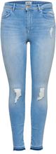 ONLY Onlcarmen Hw Ankle Skinny Fit Jeans Women Blue