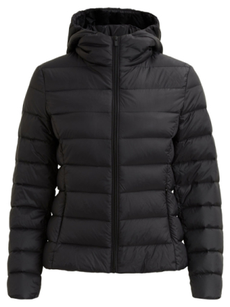 VILA Padded Short Jacket Women Black