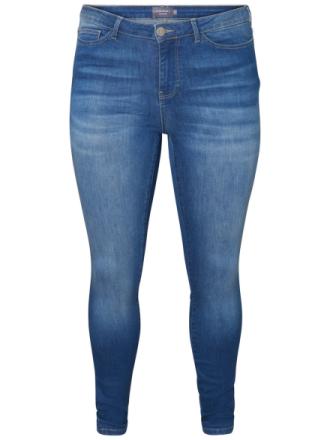 JUNAROSE Shaped Fit Jeans Women Blue
