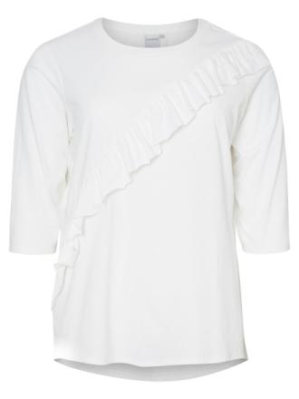 JUNAROSE 3/4 Sleeved 3/4 Sleeved Top Women White