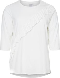 JUNAROSE 3/4 Sleeved 3/4 Sleeved Top Kvinna White