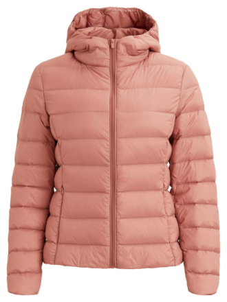 VILA Padded Short Jacket Women Pink