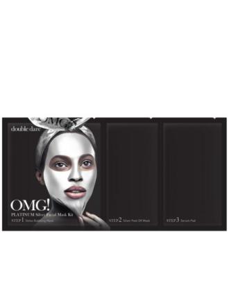 Ansiktsmasker - Sølv OMG! Platinum Facial Mask Kit