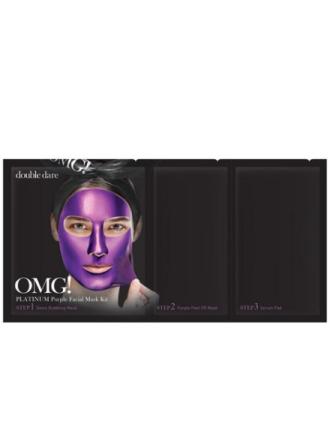 Ansiktsmasker - Lilla OMG! Platinum Facial Mask Kit
