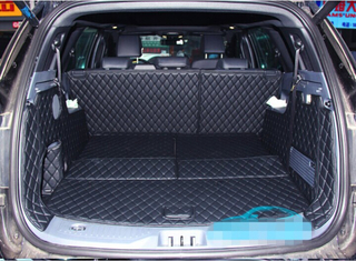 Good quality! Special trunk mats for Ford Everest 7seats 2017 waterproof boot carpets cargo liner for Everest 2016,Free shipping