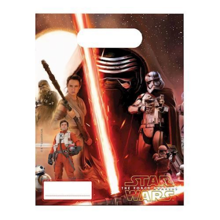 Star Wars party poser 6 stk